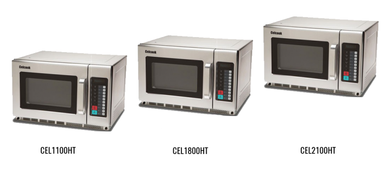Heavy Duty, High-Capacity Commercial Microwave Ovens
