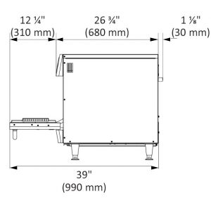 Copa Express Product Dimensions