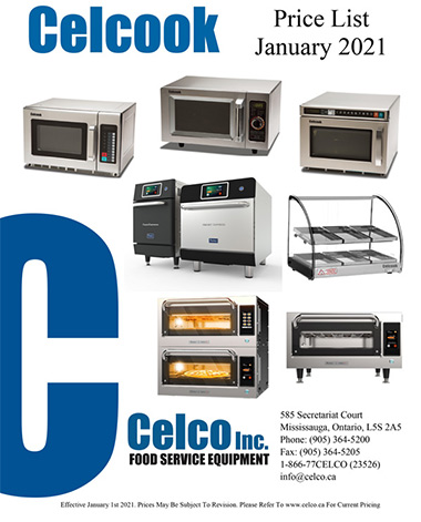 Celcook Price List -Dec 2018