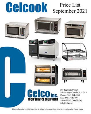 Celcook Price List - Sep 2021